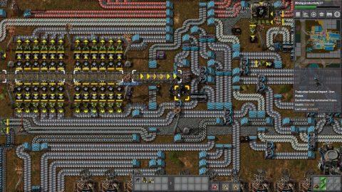 Spaghetti Base in Factorio