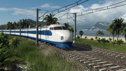 Train in Transport Fever 2